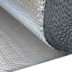 Solar Bay Double Bubble Double Metallic Foil Insulation 30m2 1 2mx25m