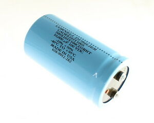 1x 10000uf 100v Large Can Electrolytic Capacitor Dc Mfd 100vdc 10000mfd 10 000