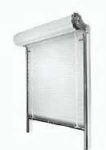 Insulated Counter Shutter roll Up Door 4 6 Wide X 4 6 High Free Shipping