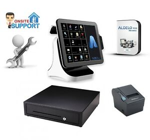 All In One Pos System With Aldelo Pro For Restaurant Bar nyc Onsite Service