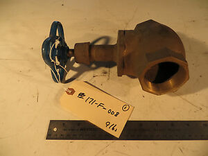 Nibco T 211 b Bronze Threaded Globe Valve 2