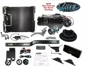 1954 55 Chevy And Gmc Truck Standard 6 cyl Complete Gen Iv Vintage Air System