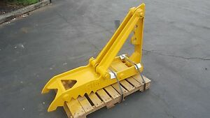 New 12 X 48 Heavy Duty Mechanical Thumb For Backhoes
