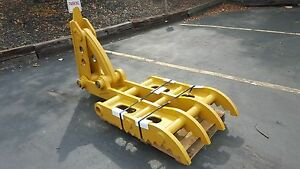 New 32 X 69 Heavy Duty Mechanical Thumb For Backhoes