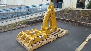 New 36 X 73 Heavy Duty Mechanical Thumb For Backhoes