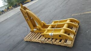 New 36 X 84 Heavy Duty Mechanical Thumb For Backhoes