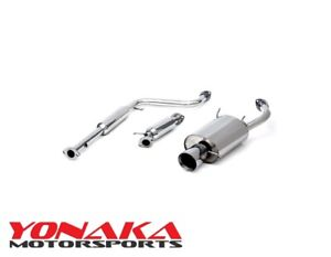 Yonaka Mitsubishi Eclipse 95 99 Rs Gs Performance Catback Exhaust Quiet Muffler