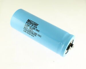 Mallory 2500uf 250v Large Can Electrolytic Capacitor Cgs252t250v5l