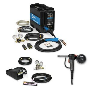 Miller Multimatic 200 Multiprocess Welder Tig Kit Spoolgun 907518