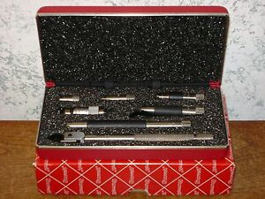 Starrett Tubular Id Inside Micrometer Set No 823az W Case box