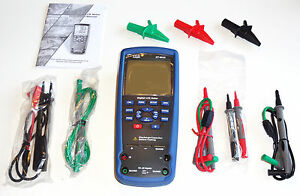 Dt 9935 Lcr Meter Kelvin 4 wire Ohm Inductance Capacitance Q D Theta Tester New