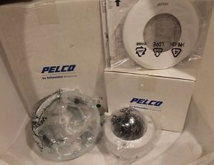 New Pelco Is51 dnv10fx Camcl 2 Environ Flsh D n Hi 2 8 10 Lens Clear Dome Pal