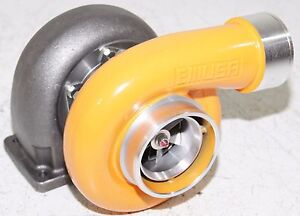 Yellow Gt45 Turbo 600 Hp T4 T66 3 5 V Band 1 05 A R 92 Trim High Performance
