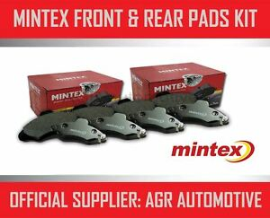 Mintex Front And Rear Brake Pads For Toyota Levin 1 6 Supercharged Ae92 1987 91