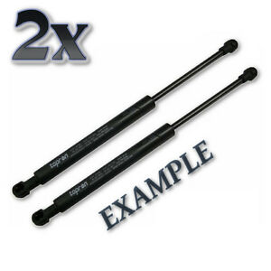 Pair Front Hood Gas Lift Shock Struts 2x Fits Vw Transporter T5 Bus Mpv 2003