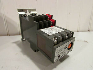 Cutler Hammer D87xdl30 Series A2 Off Delay Timer With Powereed Relay