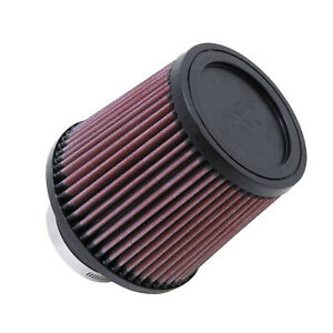 K n Ru 4990 Universal Reusable High Flow Round Tapered Red Cotton Air Filter