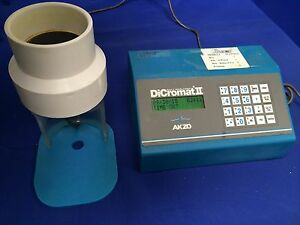 Akzo Dicromat Ii Salt Analyzer W Flow through Probe