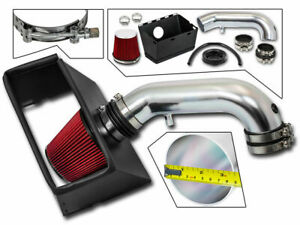 Bcp Red 09 15 Dodge Ram 1500 2500 3500 5 7 V8 Cold Air Intake Kit Heat Shield