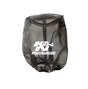 K N 22 8033pk Black 4 625 6 Round Tapered Pre Charger Polyester Air Filter Wrap