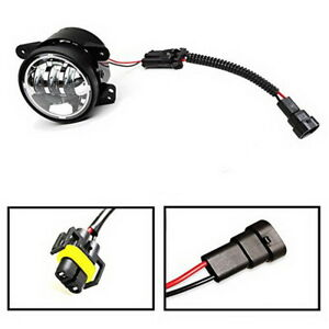 2 Led Fog Lamps Conversion Adapter Wires For 2007 2009 Jeep Wrangler Jk