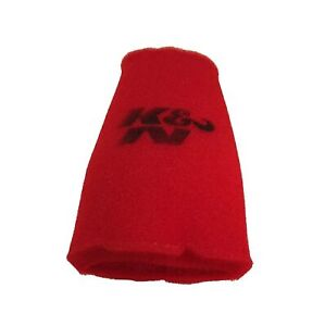 K N 25 0880 Airforce Pre Cleaner Red Round Tapered Air Filter Foam Wrap