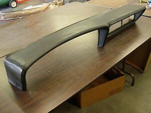 Oem Ford 1972 Thunderbird T bird Black Dash Pad