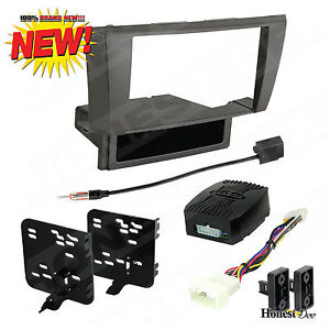 95 8160g Car Stereo Double din Radio Install Dash Kit W Amp Turn on Interface