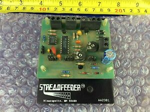 Streamfeeder Aa2301 Speed Control Board