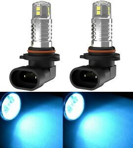 Cree Led 50w 9005 Hb3 Blue 10000k Two Bulbs Head Light Dual Beam Replacement Fit