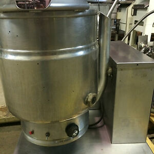 Groen Tdh 20 Steam Jacketed 20qt Gas Tilt Kettle