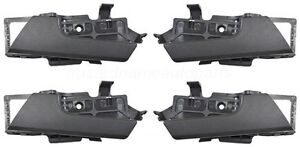 For Chevy Aveo Pontiac G6 Inside Door Handle Black Passenger Driver Set Of 4