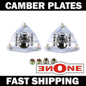 Mk1 Adjustable Pillowball Camber Plates 510 For Coilover Kits Strut Mounts