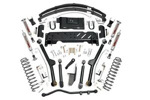 Rou 60222 Rough Country 84 01 Jeep Cherokee Xj 6 5in Jeep Long Arm Lift Kit