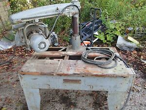 Vintage Dewalt Model Radial Arm Saw 1 5 Horse Power Fixer Upper De Walt 12