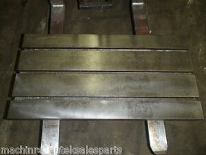 39 25 X 20 X 2 Steel Weld T slotted Table Cast Iron Layout Plate T Slot Jig