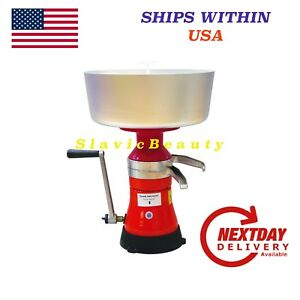 Dairy Milk Cream Separator 80l h Manual Free Usa Shipping