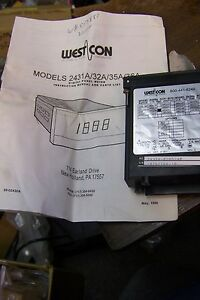 Nos 2435a 0285240 Westcon Digital Panel Meter Dc Voltmeter