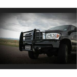Ranch Hand Fbd061blr Front Bumper Replacement For 06 09 Dodge Ram 2500 3500