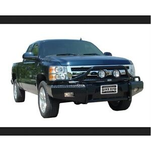 Ranch Hand Bsc08hbl1 Front Bumper Replacement For 07 13 Chevy 1500 Silverado
