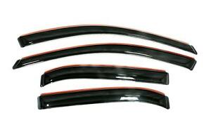 Auto Vent Shade Avs 194930 Set Of 4 Smoke In channel Ventvisors For Ford Edge