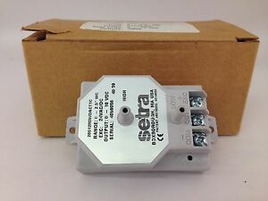 Setra Model 265 Differential Pressure Transducer 26512r5wdact1c