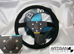 Carbon Fiber Horn Block Off Plate For Quick Release Removable Steering Wheel