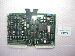 Temperature Card Sn 158 058 Ypiii Arburg Used Spare Parts
