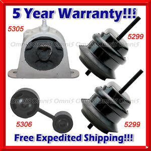 K759 Fit Chrysler Pacifica 04 06 3 5l 05 08 Awd 3 8l Motor Trans Mount 4pcs