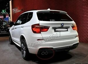 Steel Pipes Exhaust Muffler Tip For 2010 2015 Bmw F25 X3 Xdrive28i 28 New