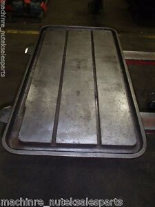 40 X 22 X 3 Steel Weld T slotted Table Cast Iron Layout Plate T Slot Jig