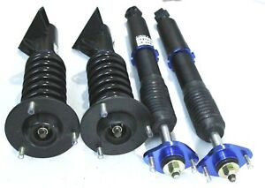 Complete Blue Suspension Coilovers Set For 92 98 Bmw 3 series E36 325 M3