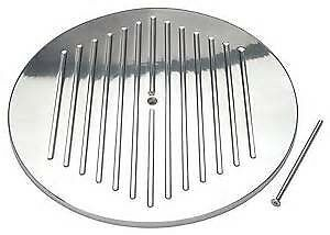 Rpc Polished Aluminum Ball Milled 14 Air Cleaner Top