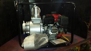 4 Cmt Gas Powered Water Pump Model 100 25